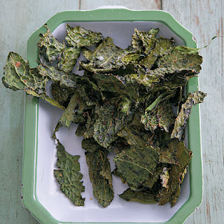 Kale Chips with Sea Salt & Smoked Paprika