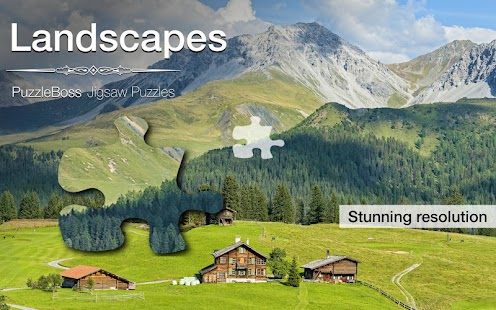Jigsaw Puzzles: Landscapes - screenshot