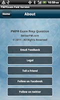 Screenshot of PMP Exam Coach - 400 Questions