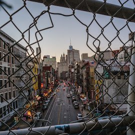by Adam Inglis - City,  Street & Park  Street Scenes