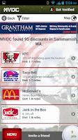Screenshot of MVDC Military & Vet Discounts