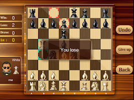 Screenshot of Chess Online,  With 9 Levels