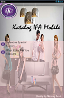 Screenshot of Katalog IFA Indonesia