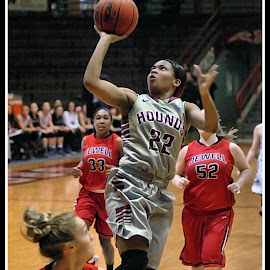 UIndy VS William Jewell womens Basketball 13 by Oscar Salinas - Sports & Fitness Basketball