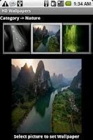 Screenshot of HD Wallpapers - Free