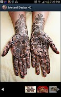 Screenshot of Mehandi Design HD Free AtoZ
