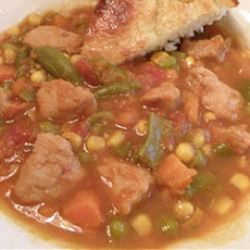 Pork and Veggie Soup