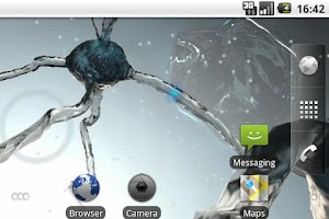 Screenshot of Neuronal Wallpaper Demo