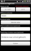 Screenshot of Kilometer Registratie PRO