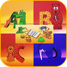 Funny Letter Game for Kids