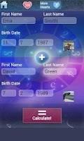Screenshot of Love Test Calculator Deluxe