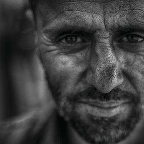 by Shishir Pal Singh - People Portraits of Men ( #portrait, kashmiri, street, kasmir, india, men )
