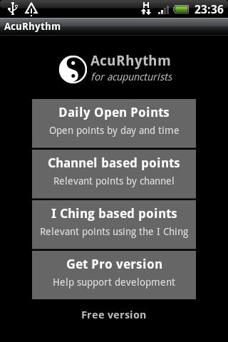 AcuRhythm Acupuncture Points