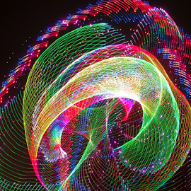 Epic laser design 2 by Jim Barton - Abstract Patterns ( epic, laser light, colorful, light design, laser design, laser, laser light show, light, science )