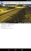 Screenshot of NC Traffic Cameras