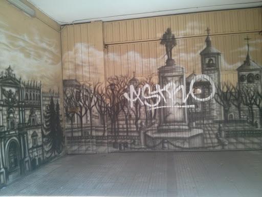 Graffiti Paisaje Alcalaíno