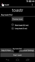 Screenshot of toastr - The Ultimate Reminder