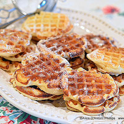Vintage Buttermilk Sugar Waffles