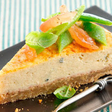 Warm Savoury Baked Cheesecake