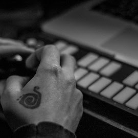 Beat Maker by Matt Goodwin - People Musicians & Entertainers ( midi controller, beats, midi, buttons, hip hop, ableton, tattoo, button pushers )