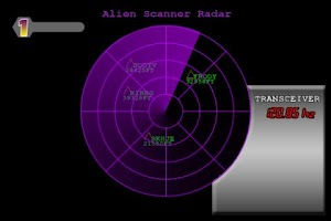 Screenshot of Alien Scanner UFO Radar