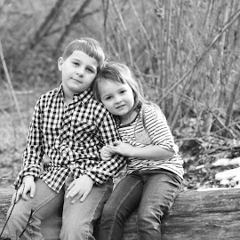 big brother... by Kallie Snyder - Babies & Children Children Candids ( love, sister, brother,  )