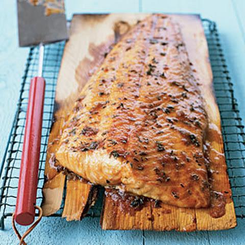 ... cedar plank salmon cedar plank salmon yogurt sauce cedar planked