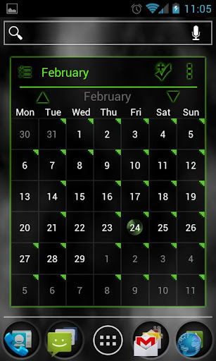 APW Theme PoisonGreen ICS