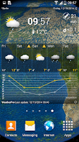 Screenshot of WeatherPro