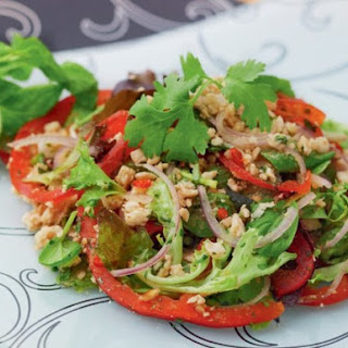Spicy Thai Salad With Minced Pork (Larb) From 'Everyday Thai Cooking'