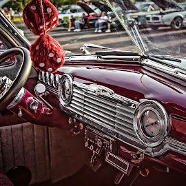 Mom, Apple Pie & Chevrolet by Ron Meyers - Transportation Automobiles