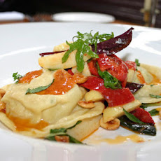 Crab And Prawn Ravioli