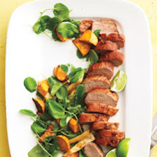 Spicy Pork with Parsnips and Sweet Potatoes