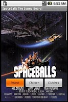 Screenshot of Spaceballs The Sound Board