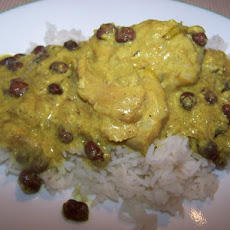 Curried Creole Chicken & Black Beans-A Winner!