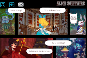 Screenshot of Alice Solitaire