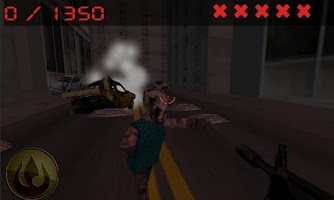 Screenshot of hunter of city zombies
