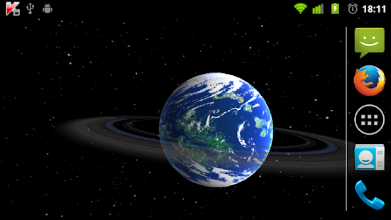 LWP 3D Foreign Planets - screenshot