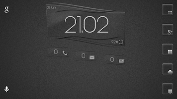 Screenshot of Transparent Line UCCW skin