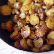 Harissa Potatoes