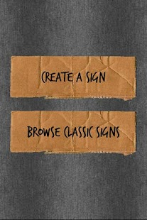 Cardboard Signs (Ad Free) - screenshot