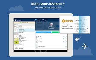 Screenshot of CamCard - Business Card Reader