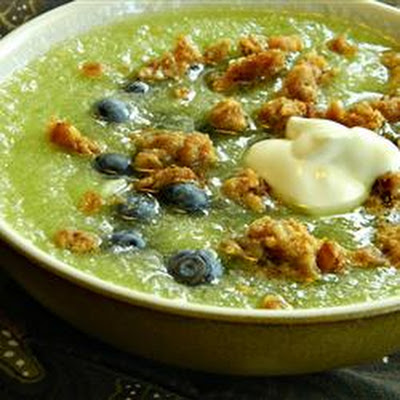 Honeydew Blueberry Soup