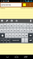 Screenshot of Linpus Keyboard (main body)