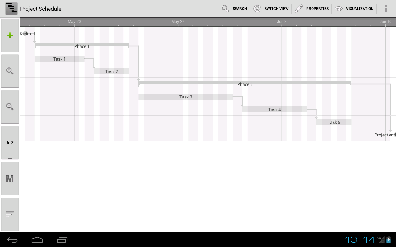 Project Schedule Screenshot 6