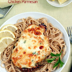 Lemon Ricotta Chicken Parmesan