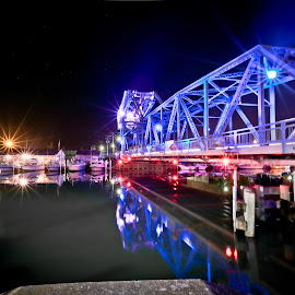 by Rob Cox - Buildings & Architecture Bridges & Suspended Structures ( lift bridge, ashtabula, long exposure )