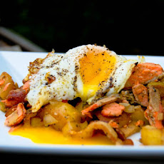 Grilled Salmon Hash