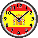 Spain Clock icon