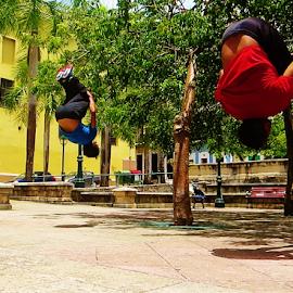 Teamwork by Luis Alvarez - Sports & Fitness Fitness